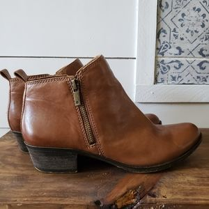 Lucky Brand Leather Basel Booties